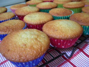 Little Orange Cakes