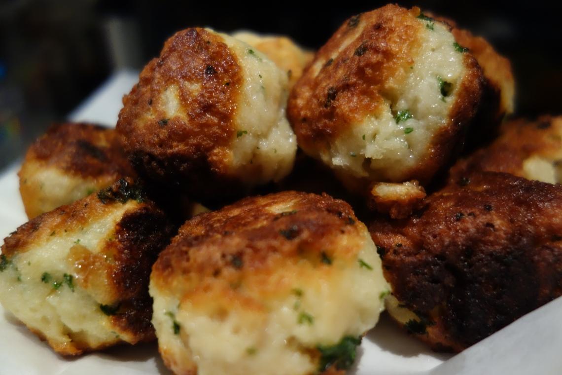 Stale Bread Dumplings