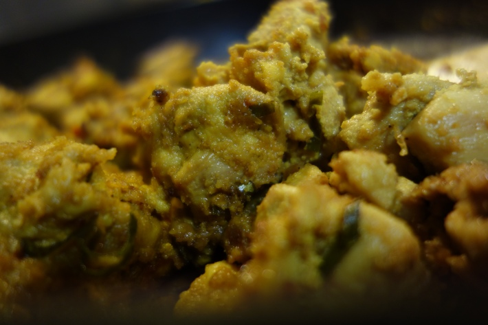 Andhra Curry Leaf Chicken