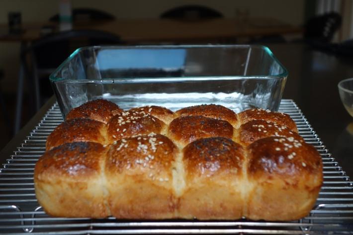 Baked Sourdough Buns